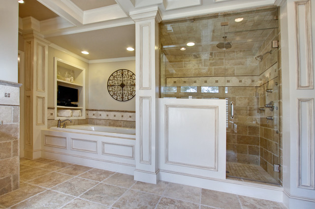 Luxury spa master bathroom for Luxury master bath designs