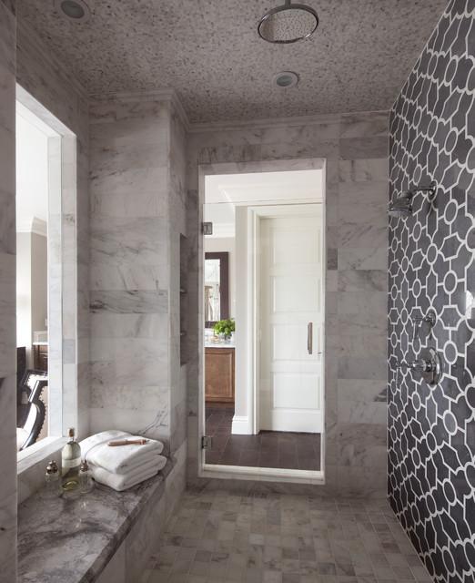 Luxury Stone Shower Robeson Design Transitional Bathroom San Unique San Diego Bathroom Design