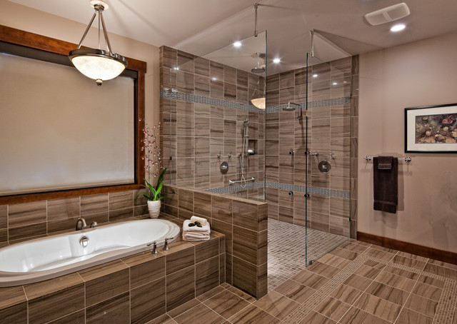 Luxury timber frame contemporary bathroom vancouver for Bathroom design vancouver