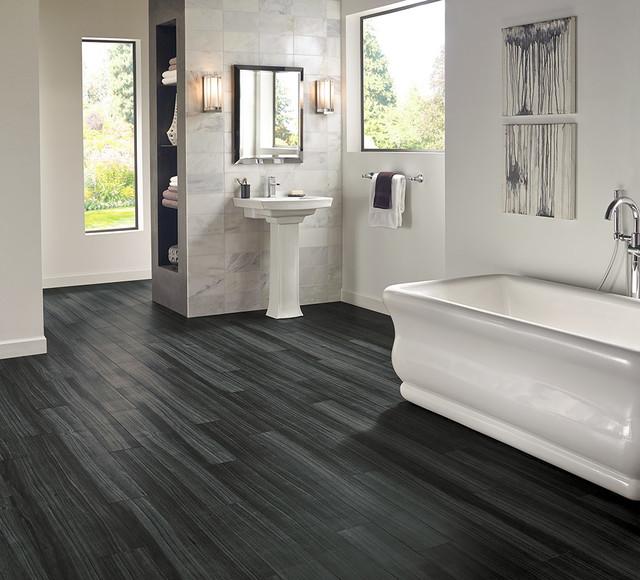 Empire bathroom vanities - Luxury Vinyl Plank Bathroom Eclectic Bathroom Columbus By Rite