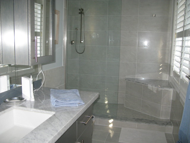 Luxury Walk In Shower Contemporary Bathroom Other