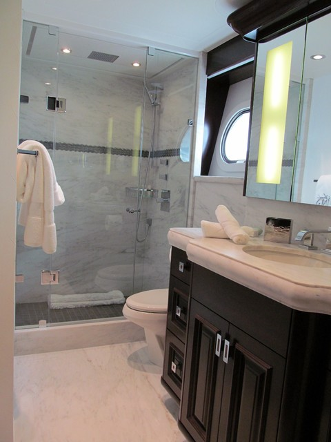 Luxury yacht interior design transitional bathroom for Bathroom design grand rapids mi
