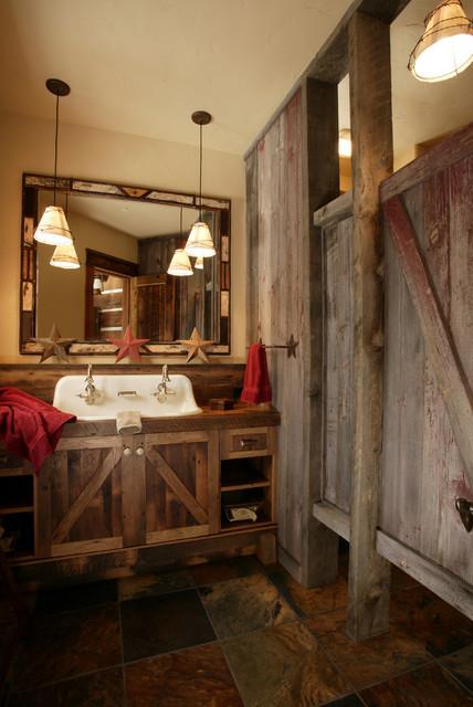 Lynne Barton Bier rustic-bathroom