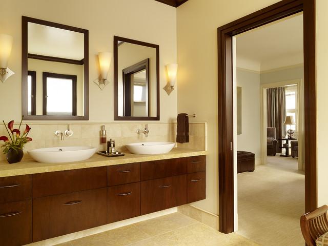 Lyon Street Remodel - Bath modern-bathroom