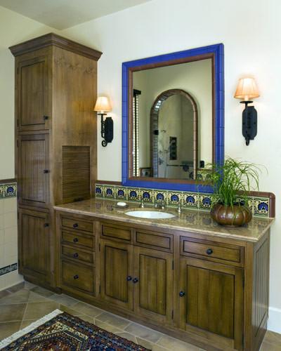 M I L L E R S T E I N Interior Design mediterranean bathroom