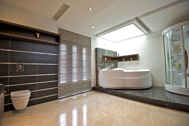 M3 House contemporary-bathroom