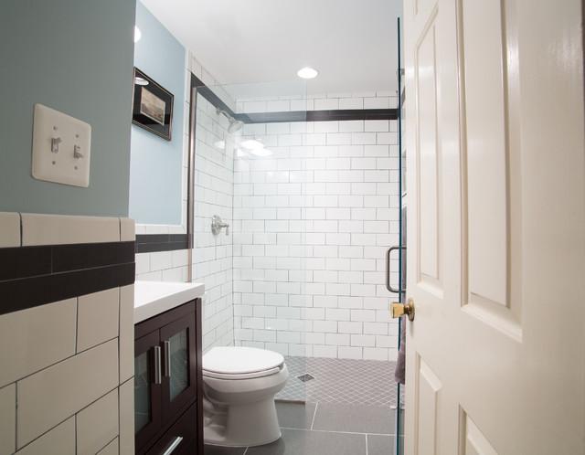 MacArthur Boulevard Bathroom contemporary-bathroom