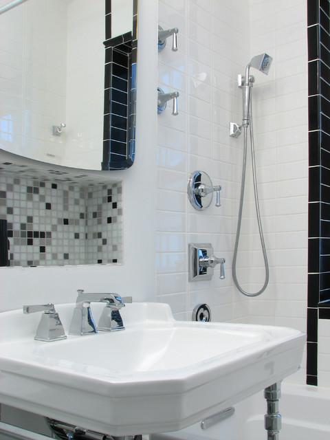 Machine Age Minimalist modern-bathroom