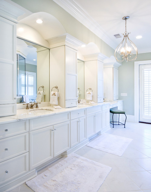 Traditional Bathroom by Charleston General Contractors Jamison Howard