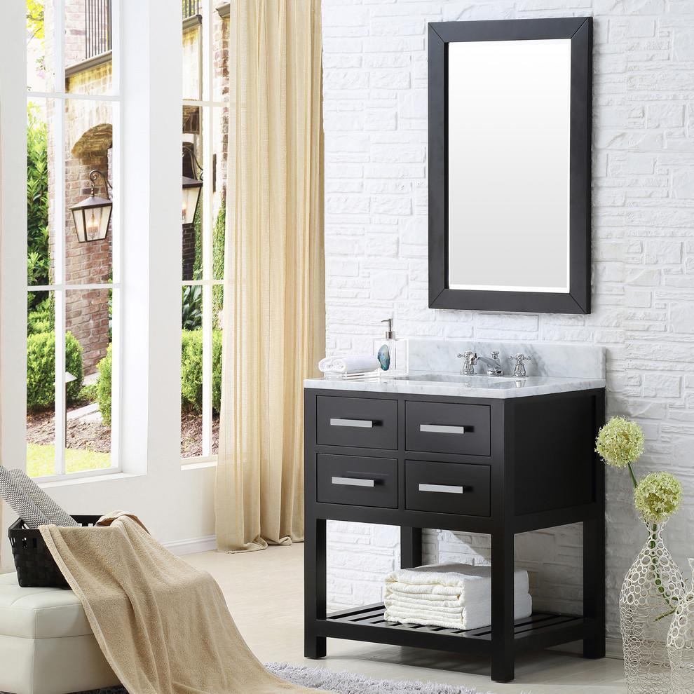 """Madalyn 30"""" Espresso Bathroom Vanity - Bathroom - Los ..."""
