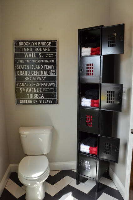 Made in America House eclectic-bathroom