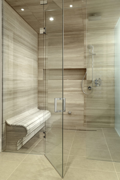 contemporary bathroom home improvement