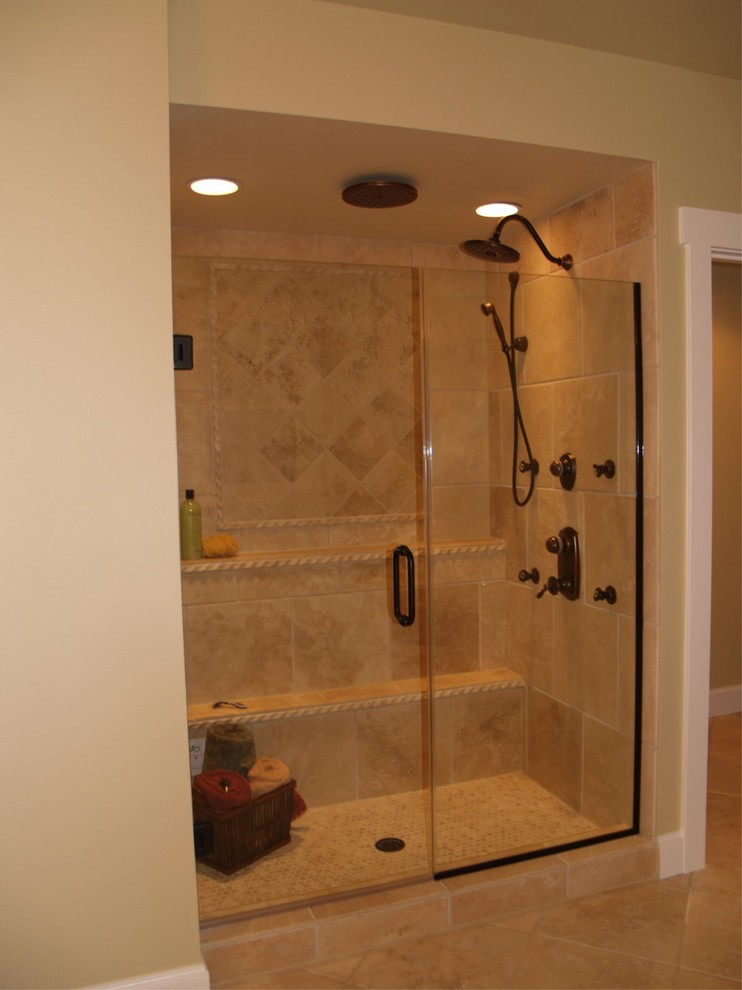 Madison Park Model Home - Traditional - Bathroom - Seattle ...