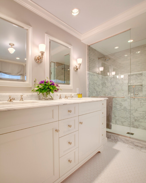 Madison park residence traditional bathroom seattle - Madison park bathroom accessories ...