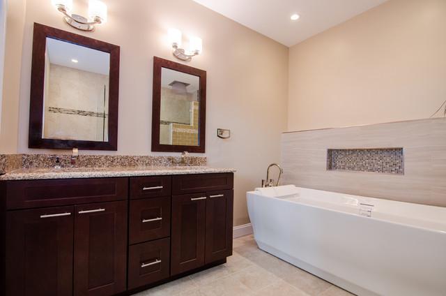 Showroom Bathroom 2 - Contemporary - Bathroom - dc metro - by Abbey ...