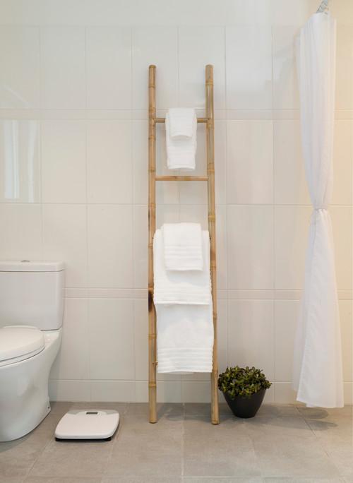 Magnolia mid mod more info - Decorative ladder for bathroom ...