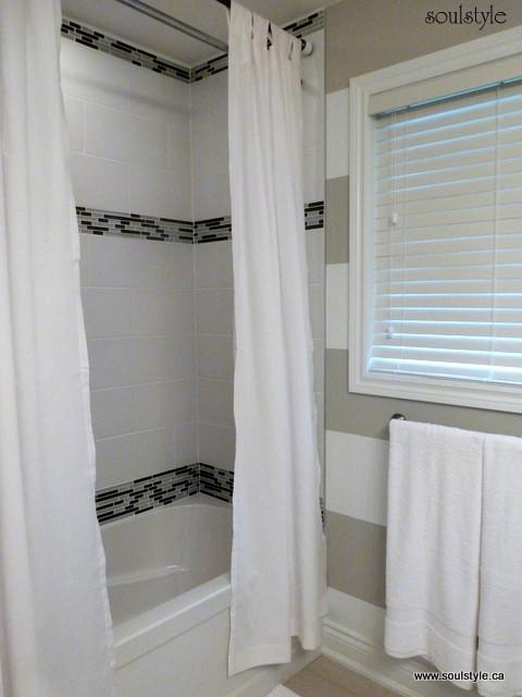 Main bath renovation eclectic-bathroom
