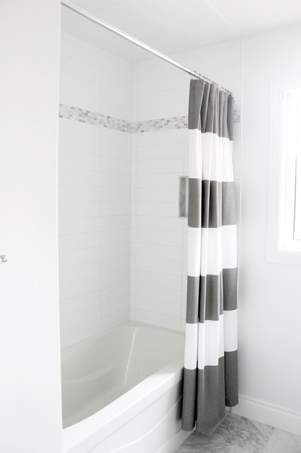 Main Bathroom Contemporary Bathroom Toronto By Am