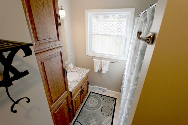 Main Bathroom Remodel Medina Oh Traditional Bathroom Cleveland By Cabinet S Top
