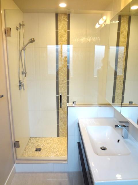 Main Floor Over-haul contemporary-bathroom