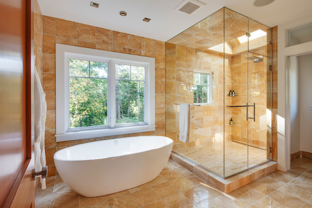 Maine contemporary contemporary bathroom portland for Phi home designs maine