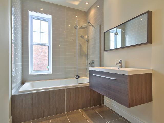Maison à Westmount traditional-bathroom