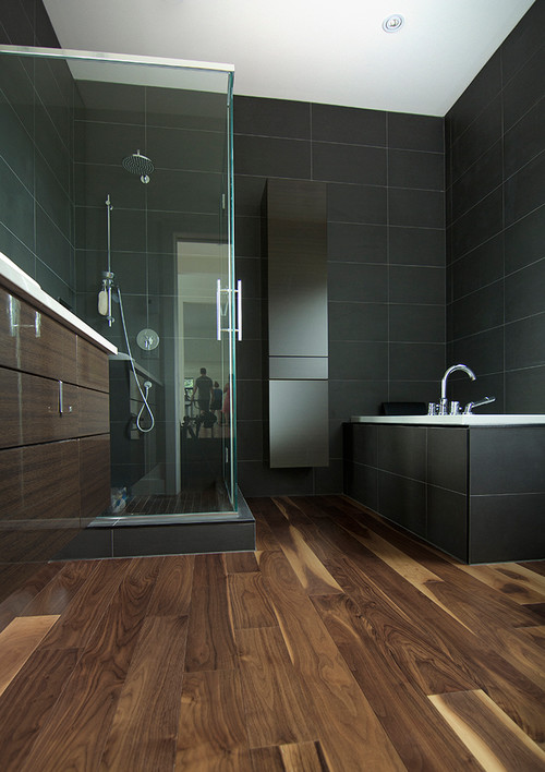 Tile That Looks Like Wood In Bathroom Entrancing Is The Floor Real Wood Or Ceramic Tile That Looks Like Wood Design Inspiration