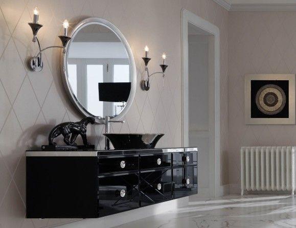 Vanity Lights How High : Majestic Vanity - Modern - Bathroom - new york - by Nella Vetrina