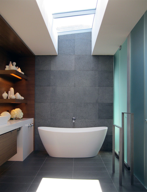 Contemporary Bathroom by MAK Studio