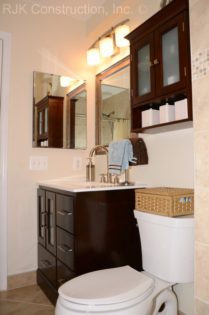 Make The Most Of Your Small Bath Traditional Bathroom Dc Metro By RJK