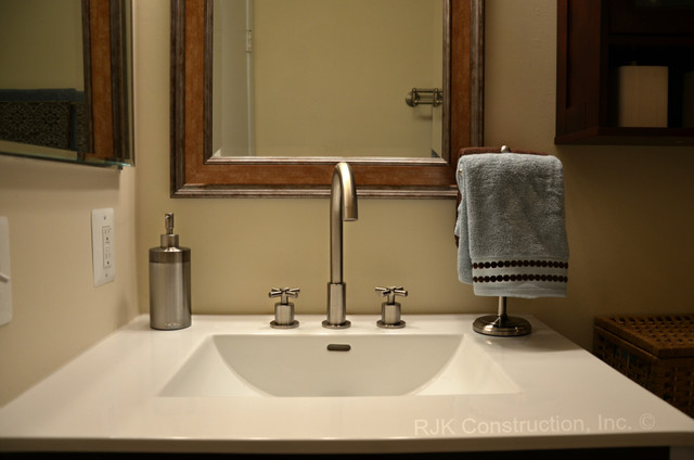 Make The Most Of Your Small Bath Traditional Bathroom Dc Metro By Des