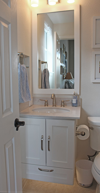 Making The Most Of A Small Bath Transitional Bathroom Austin By New C