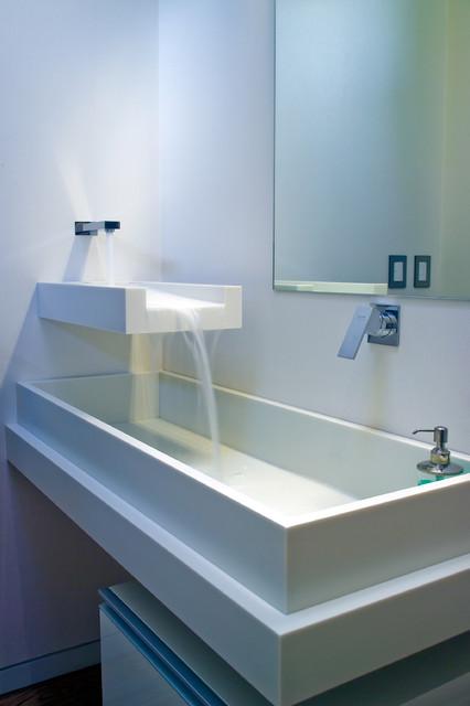 Mal Corboy Cabinets, Exclusive North America Distributor - Mega Builders modern-bathroom
