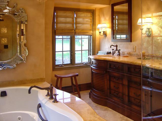 Malibu 2 Mediterranean Bathroom Los Angeles By Roth Design Group Ltd