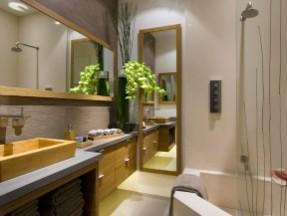 Malibu Condo contemporary-bathroom