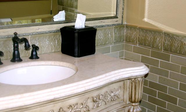 Malibu Country home traditional-bathroom