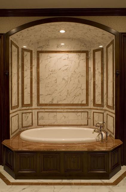 Malinard Manor - Guest Suite Bath traditional-bathroom