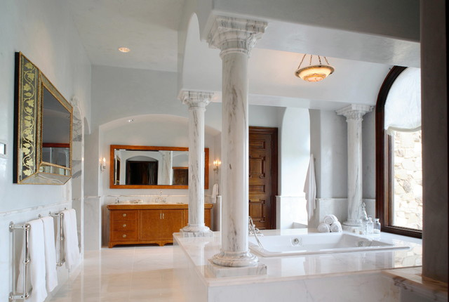 Malinard Manor - Master Bath traditional-bathroom