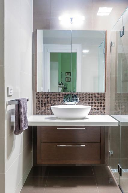 Malvern East Melbourne Australia Modern Bathroom Melbourne By Mal Corboy Design