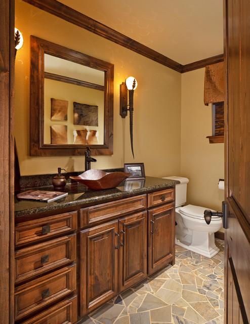 Manly Bathroom Storage: Man Cave Bathroom