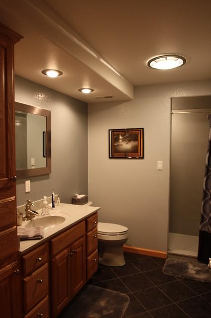 Http Houzz Com Photos 14920989 Man Cave Bathroom Other Metro