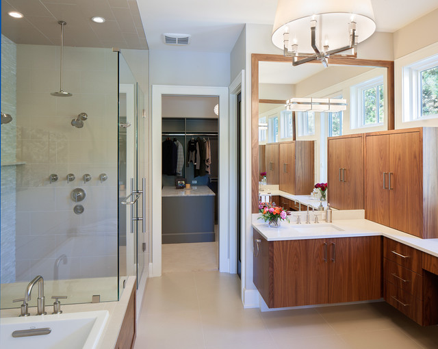 Manchester hills transitional bathroom grand rapids for Bathroom designs manchester