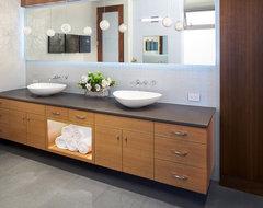 Manhattan Ave Residence modern-bathroom