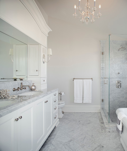 Manhattan Beach - Cape Cod - Traditional - Bathroom - los ...