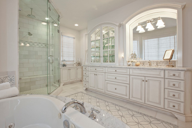 Manhattan Beach Hill Section Interior Design Traditional Bathroom Los Angeles By Luke