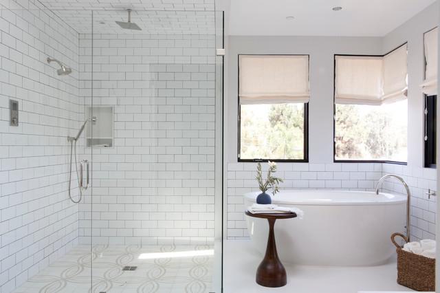 Manhattan Beach House Beach Style Bathroom Los Angeles By - Bathroom showrooms manhattan