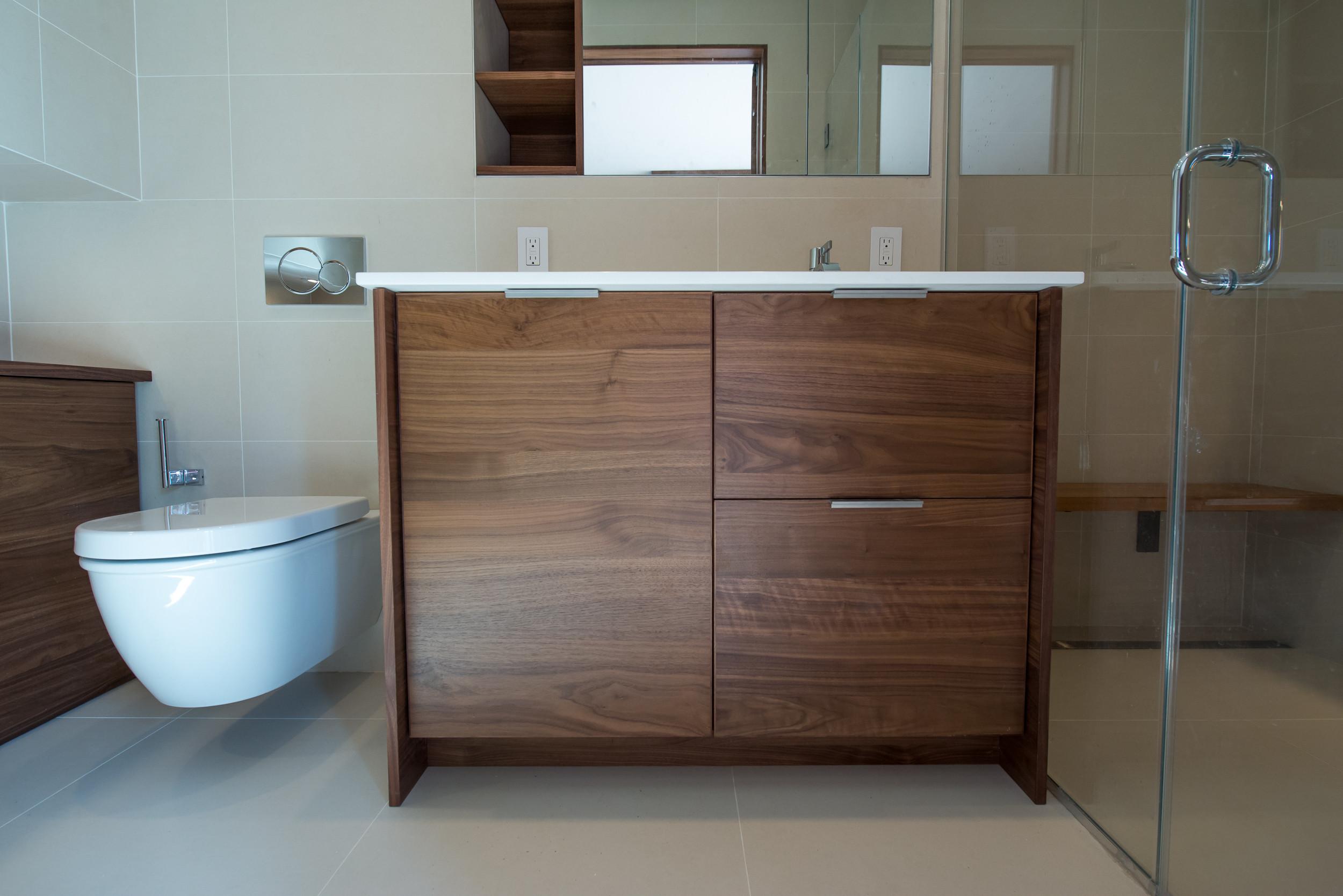 Manhattan modern bathroom