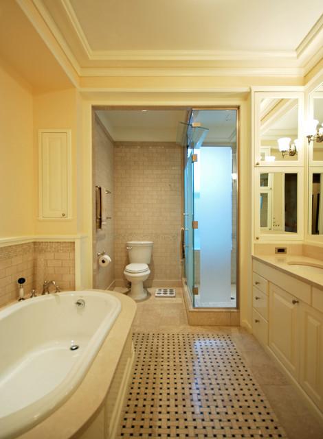 Manhattan Penthouse traditional-bathroom
