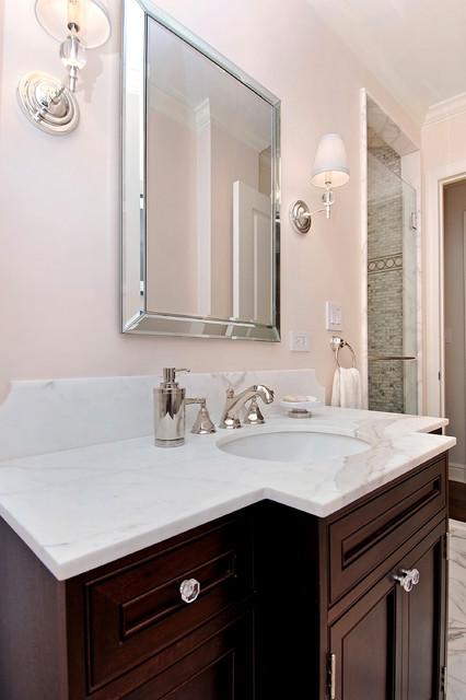 Manhattan pied a terre contemporary bathroom new for Pied a terre manhattan