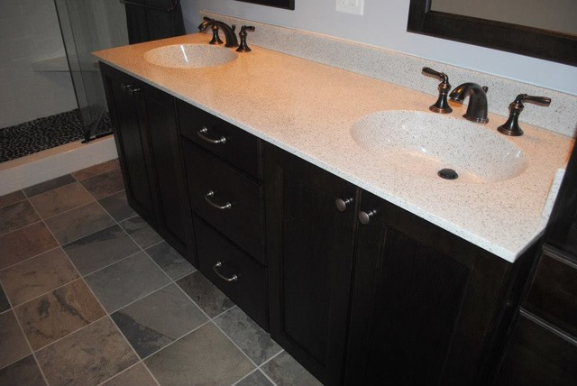 Maple Adams Espresso Vanity, Polystone Ventana Top, Oil Rubbed ...